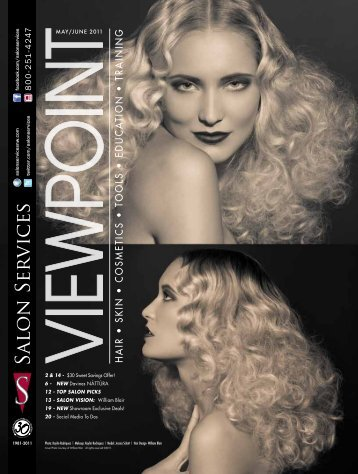 hair • skin • cosmetics • tools • educa tion • training - Salon Services ...
