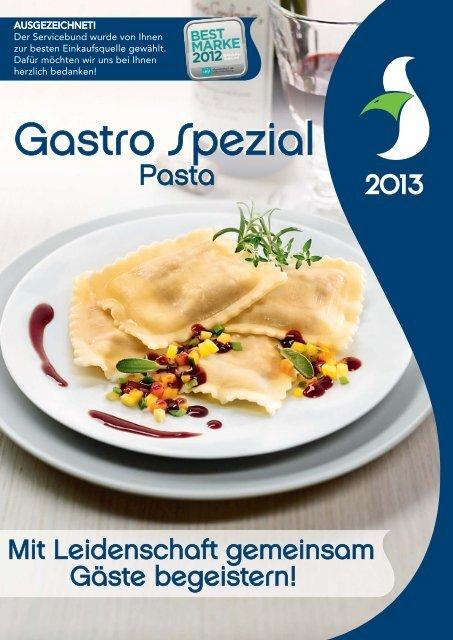 Gastro Spezial Pasta - Recker Feinkost GmbH