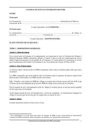 Contrat type d 39 entretien des ascenseurs arc et de l for Contrat type entretien espaces verts