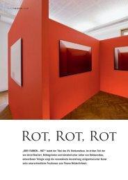 Rot Rot Rot, Anita Wünschmann, Berlin vis à - Galerie   Anita Beckers