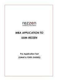 GMAT - Rezzen
