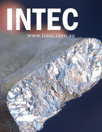 Intec - The International Resource Journal