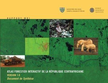 atlas forestier interactif de la république centrafricaine - World ...