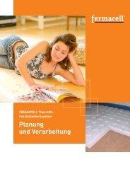 Planung und Verarbeitung - Fermacell