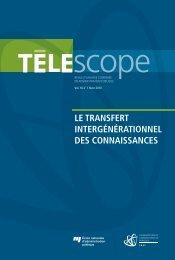 le transfert intergénérationnel des connaissances - L'Observatoire ...