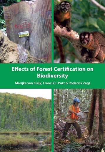 Effects of Forest Certification on Biodiversity - Tropenbos International