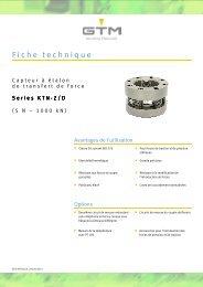 Fiche technique Serie KTN-ZD - GTM GmbH