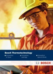 Prospekt - Bosch Kundenguss