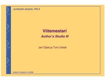 PowerPoints (fi, pdf) - Jyväskylän yliopisto