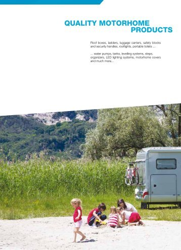 2013 Quality Motorhome Products - Motorcaravanning.co.uk