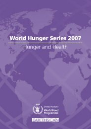 World Hunger Series 2007 Hunger and Health - BVSDE