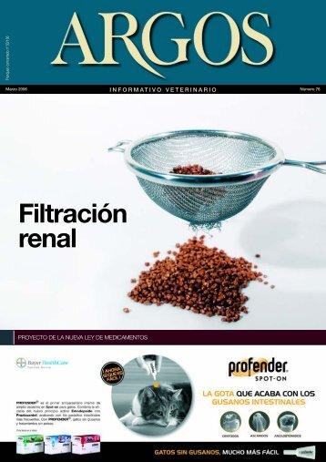 Filtración renal - argos