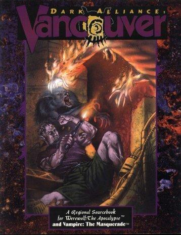 WoD - Dark Alliance - Vancouver (1993)