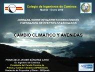 Cambio climático y avenidas - spancold