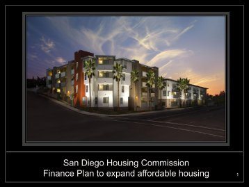 San Diego Housing Commission Finance Plan to expand affordable ...