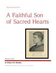 A Faithful Son of Sacred Hearts - Mondoy Music