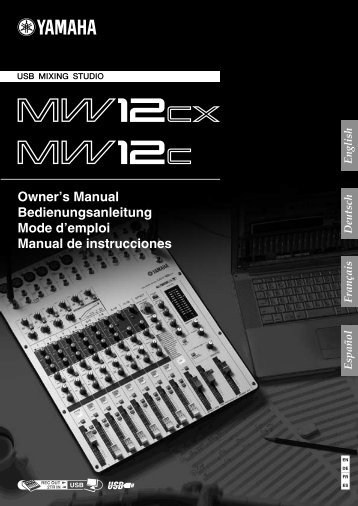 MW12CX/MW12C Owner's Manual