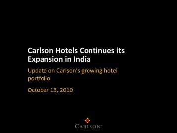 India - Carlson