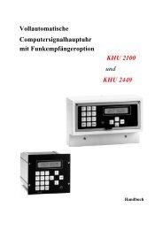 KHU 2100/2440 - Borsari + Meier AG