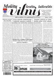 2009 m. birželio 12 d., penktadienis Nr. 45 - 2013 - VILNIS