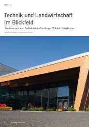 Pöttinger Kundenzentrum in Fachmagazin Architektur - Apr ... - Wiehag