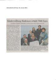 Vorlesenetzwerk Bodensee - Grieshaber Logistik AG