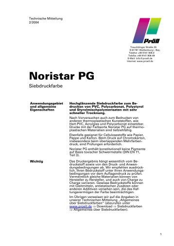 Noristar PG