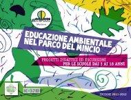 Proposte di Educazione Ambientale - Parco del Mincio