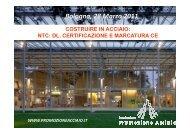 relazione - Ordine degli Ingegneri della Provincia di Bologna