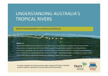 1.2 Understanding Australia's tropical rivers.pdf - TRaCK: Tropical ...