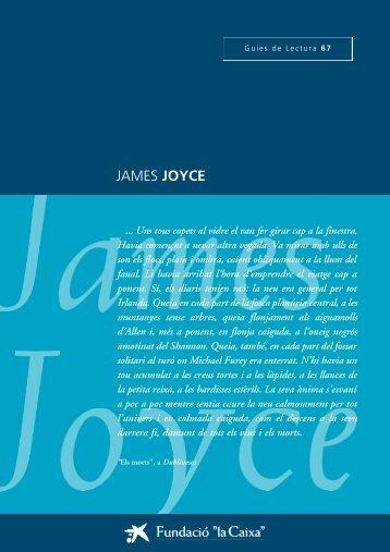 """JAMES JOYCE - Obra Social """"la Caixa"""""""