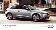 Kurzanleitung Audi A3 Sportback - Fahrschule Rimann