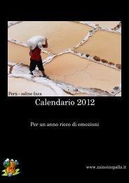 Calendario 2012 - ZainoinSpalla