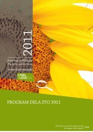 Program dela STO za leto 2011 - Slovenia