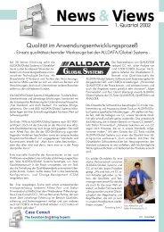 News&Views, Ausgabe 1/2002 - CC GmbH