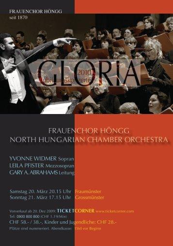 frauenchor höngg north hungarian chamber orchestra