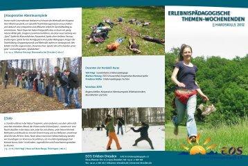 Hardskill-Wochenendkurse 2012, Faltblatt - EOS Erleben Dresden