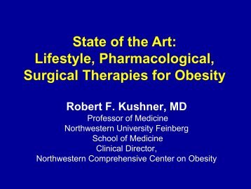 State Of The Art: Lifestyle, Pharmacological, Surgical - American ...