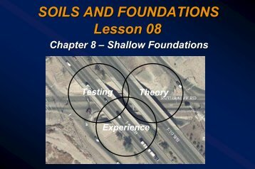 Lesson 08 - Shallow Foundations