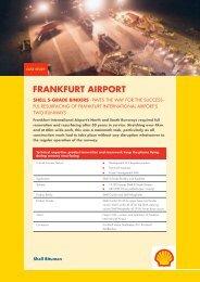 Shell Bitumen - Frankfurt Airport Case Study - Shell S-Grade Binders