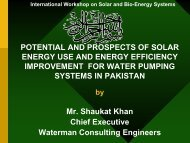 POTENTIAL AND PROSPECTS OF SOLAR ... - icdd@uaf.edu.pk