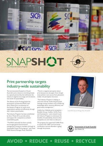 Printing Industries Association of Australia - Zero Waste SA - SA.Gov ...