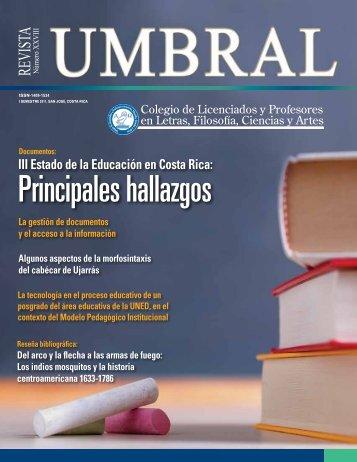 Revista Umbral XXVIII - Colypro