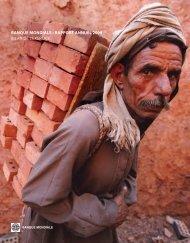 banque mondiale • rapport annuel 2009 bilan de l'exercice
