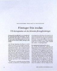 Företaget från insidan - Visa filer