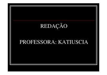 redação - Colégio Alexander Fleming