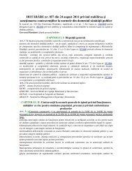 HOTARARE nr. 857 din 24 august 2011 privind stabilirea si ...
