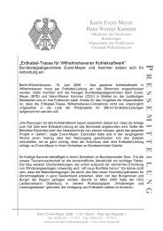 Pressemitteilung vom 19.6.08 zur Erdkabel-Trasse Wilhelmshaven ...