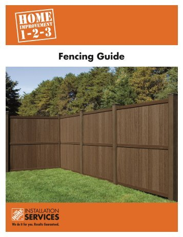 Fencing Guide - Home Depot