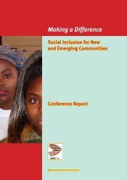 Making a Difference - Settlement Council of Australia